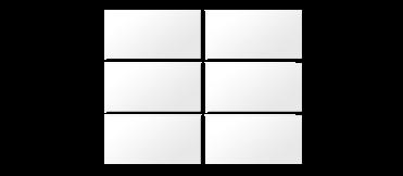 6-part tiled