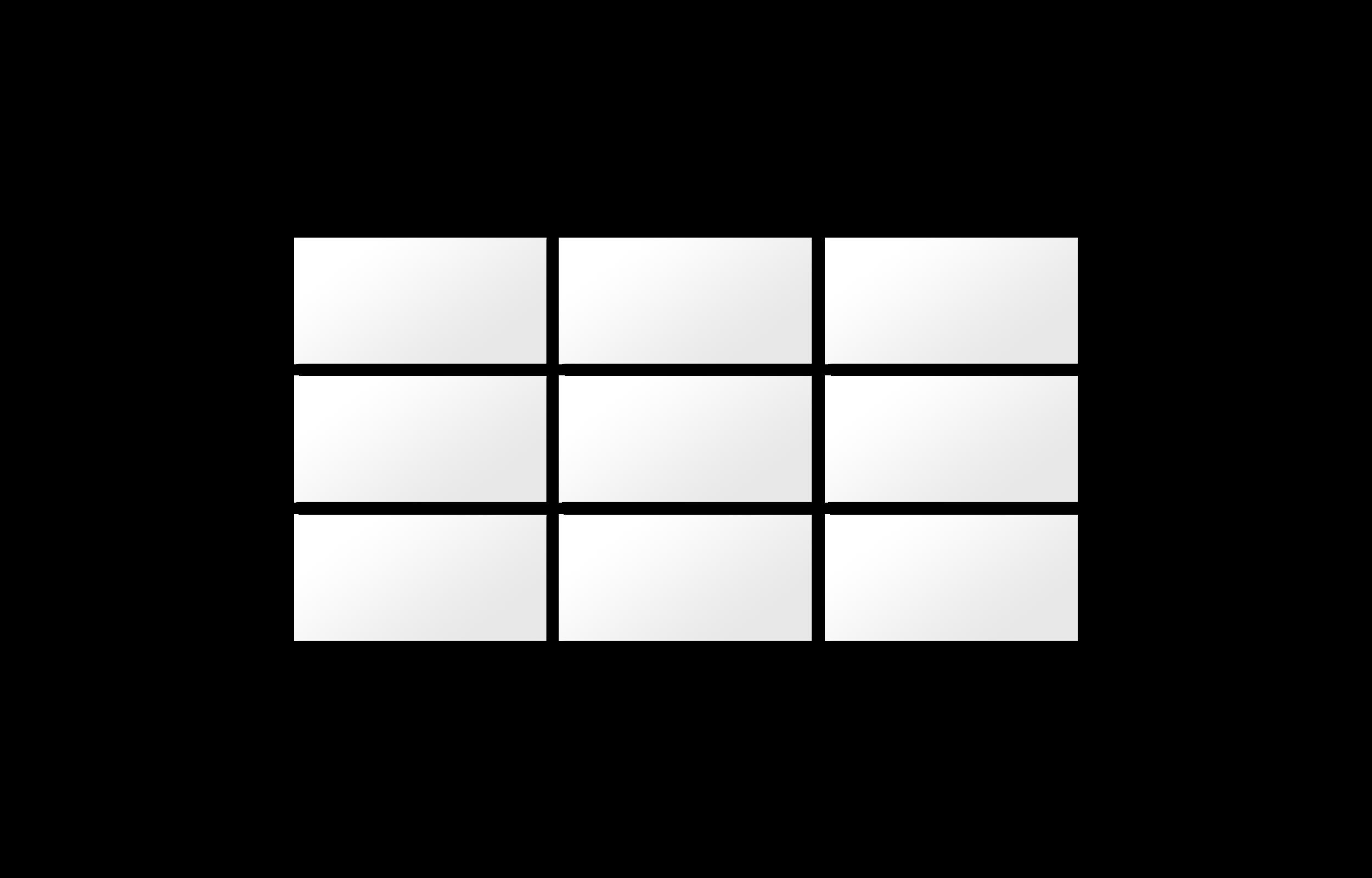 9-part tiled